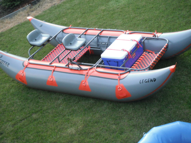 Drl river gypsies current boat package specials for Fly fishing raft for sale